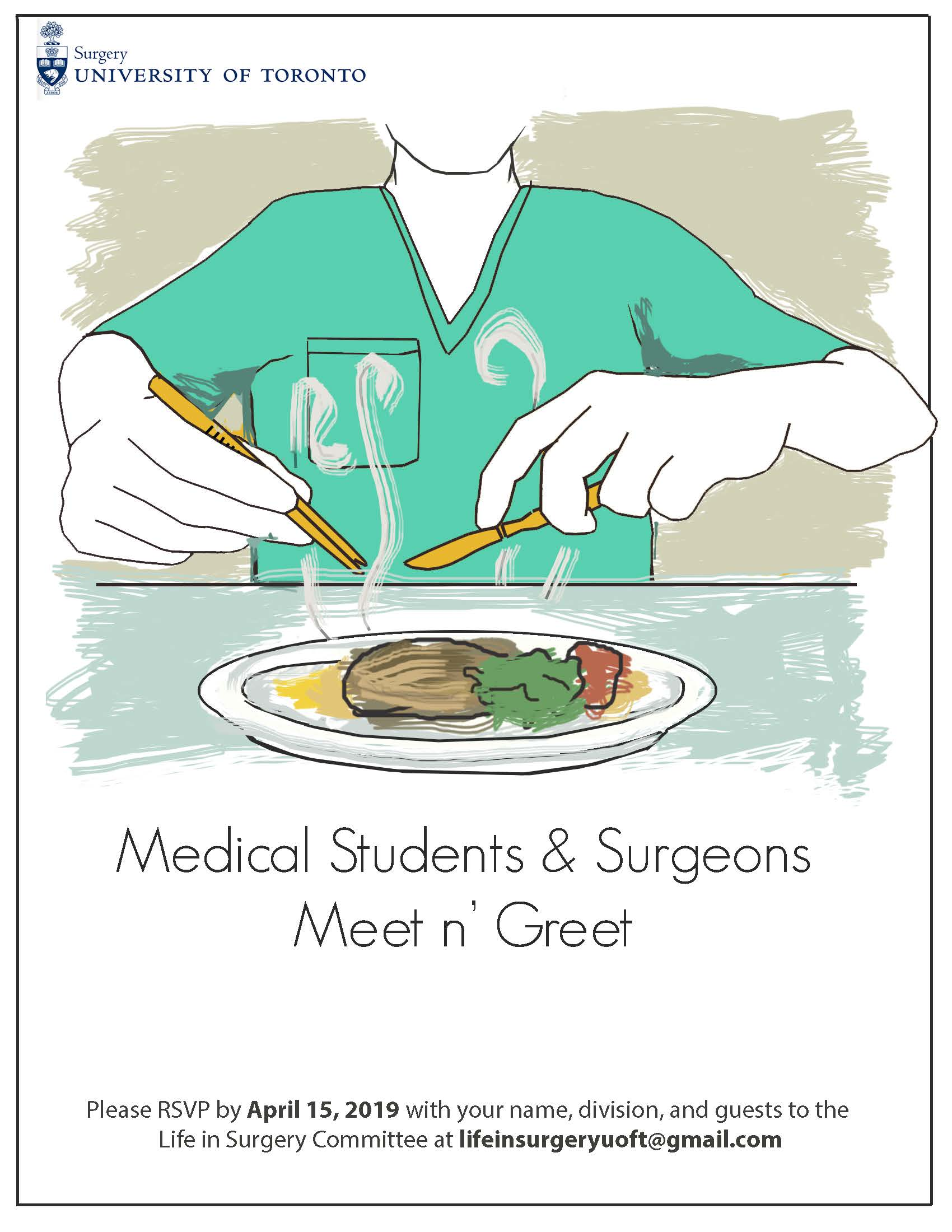 Life in Surgery Poster