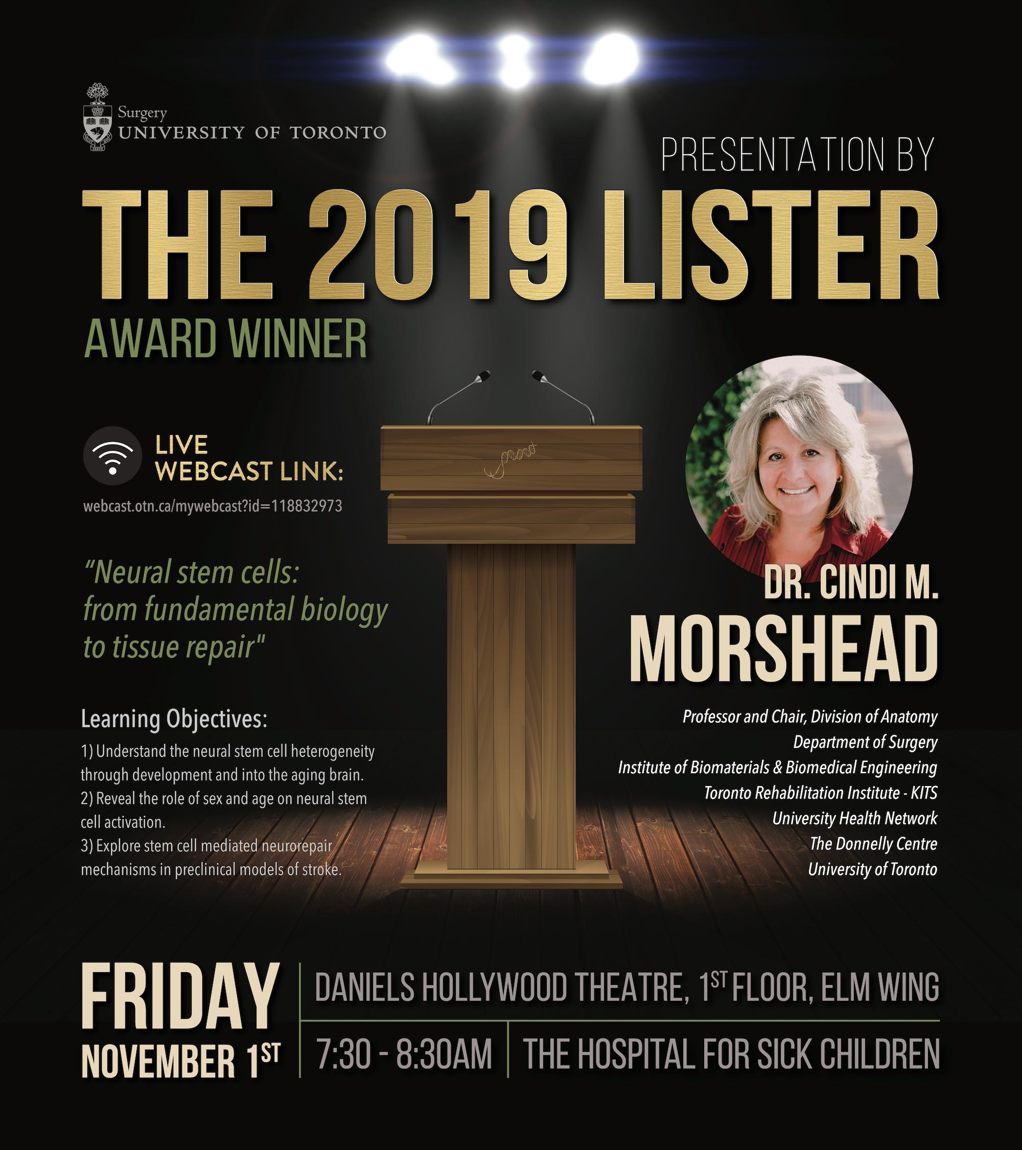 Llster Award Winner 2019