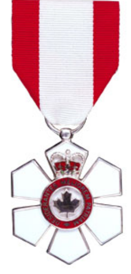 medal for member of Order of Canada