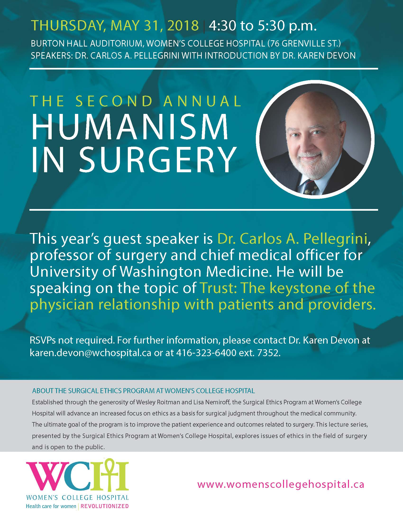 Humanism in Surgery Lectureship 2018