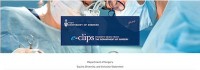 Equity, Diversity, and Inclusion Statement, Dept of Surgery